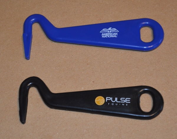 Made in Canada Plastic Horse hoof pick