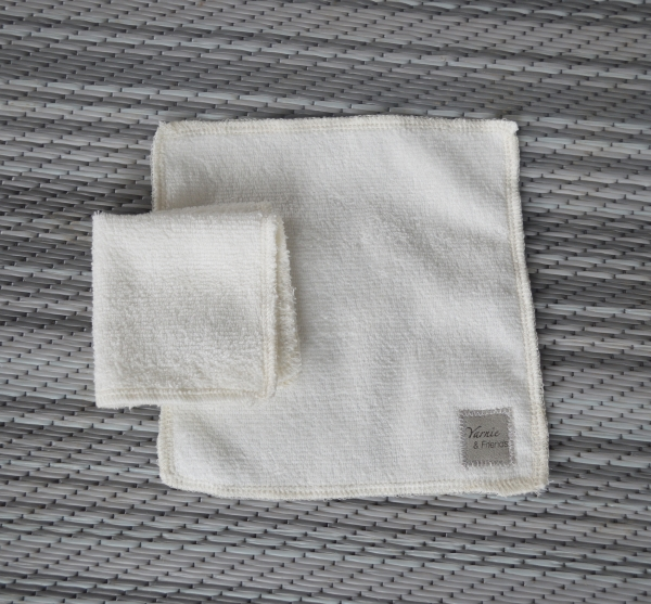 7x7 Organic Bamboo Cleaning Cloth / Face Cloth (Made in Canada)